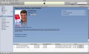 democrazia dei cittadini su iTunes