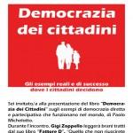 volantino presentazione democrazia dei cittadini
