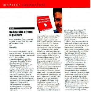 QuestoTrentino Democrazia dei Cittadini 01/09
