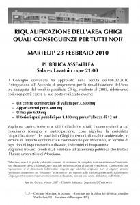 Volantino Ghigi 2