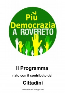 copertina Il Programma dei Cittadini