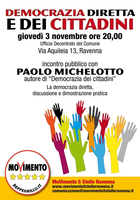 Democrazia diretta e dei Cittadini - Michelotto max