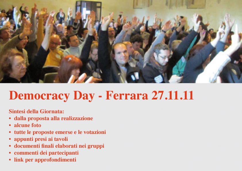 democracy day copertina
