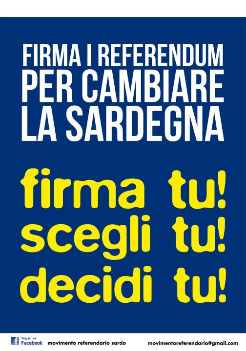 referendum sardegna