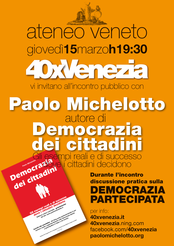 democrazia diretta venezia