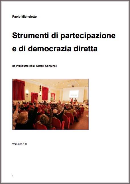 strumenti di partecipazione e democrazia diretta