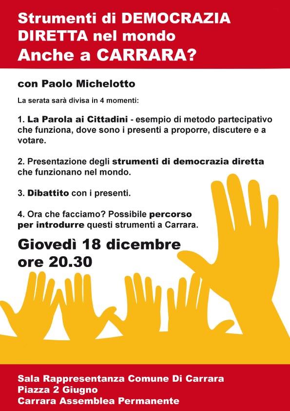 carrara democrazia diretta 18-12-14