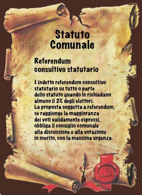 referendum consultivo statutario