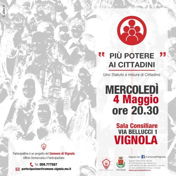 4-Maggio2016 piu potere ai cittadini vignola-1